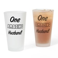 One Amazing Husband Drinking Glass