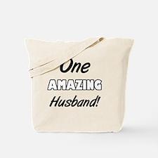 One Amazing Husband Tote Bag