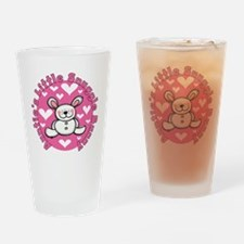 Auntie's Snuggle Bunny Drinking Glass