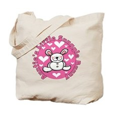 Auntie's Snuggle Bunny Tote Bag