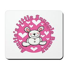 Auntie's Snuggle Bunny Mousepad