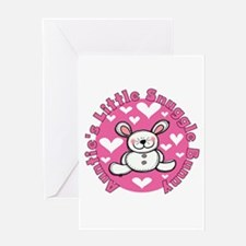 Auntie's Snuggle Bunny Greeting Card