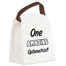 One Amazing Optometrist Canvas Lunch Bag