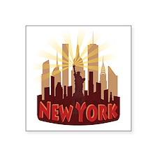 new york 7 newwave hot Sticker