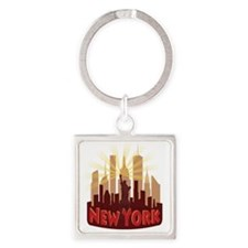 new york 7 newwave hot Keychains
