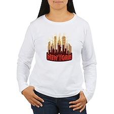 new york 7 newwave hot Long Sleeve T-Shirt