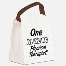 One Amazing Physical Therapist Canvas Lunch Bag
