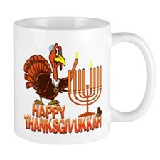 Happy Thanksgivukkah Mugs