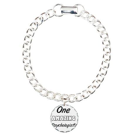 One Amazing Psychologist Charm Bracelet, One Charm