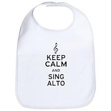Keep Calm Sing Alto Bib