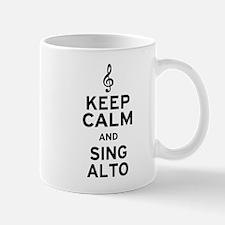 Keep Calm Sing Alto Mug