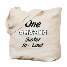 One Amazing Sister-In-Law Tote Bag