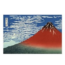 Mount Fuji by Hokusai Postcards (Package of 8)