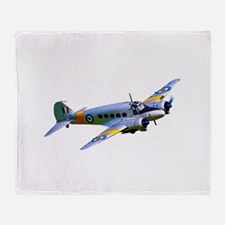 Avro Anson Throw Blanket