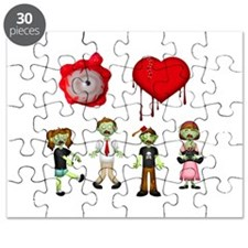Eye Heart Zombies Puzzle