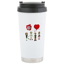 Eye Heart Zombies Travel Mug