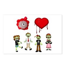 Eye Heart Zombies Postcards (Package of 8)