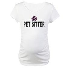 Pet Sitter Purple Circle Paw Shirt