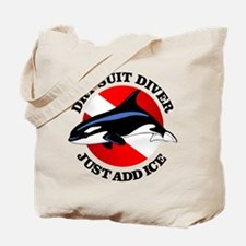 Dry Suit Diver Tote Bag