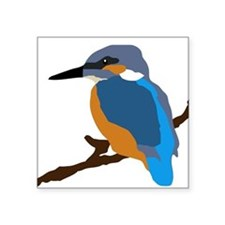 kingfisher bird waiting for love peace joy Sticker