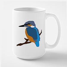 kingfisher bird waiting for love peace joy Mugs