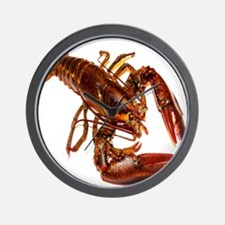 lobster confidence and peace Wall Clock