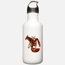 lobster confidence and peace Water Bottle