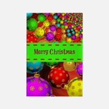 Merry Christmas, Colorful Christm Rectangle Magnet