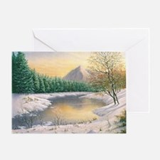 Cool Sunset district Greeting Card