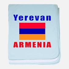 Yerevan Armenia Designs baby blanket