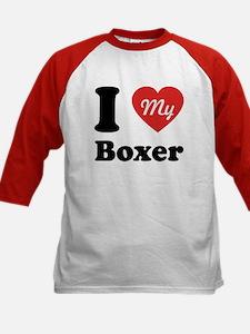 I Heart My Boxer Tee