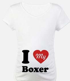 I Heart My Boxer Shirt