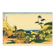 Shimomeguro by Hokusai Postcards (Package of 8)