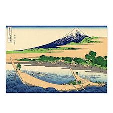 Tago Bay Ejiri by hokusai Postcards (Package of 8)