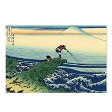 Kajikazawa by Hokusai Postcards (Package of 8)