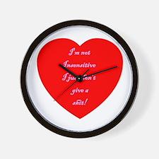 V-Insensitive Wall Clock