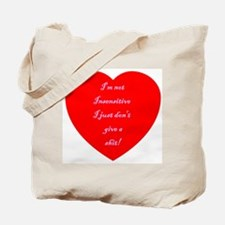 V-Insensitive Tote Bag