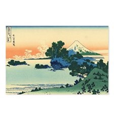 Shichiri beach by Hokusai Postcards (Package of 8)