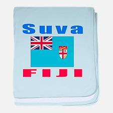 Suva Fiji Designs baby blanket