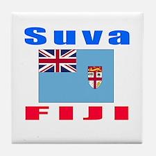 Suva Fiji Designs Tile Coaster