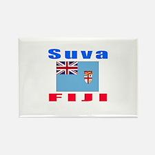 Suva Fiji Designs Rectangle Magnet