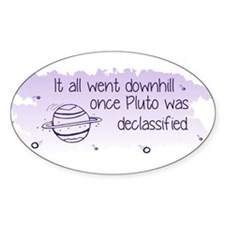 Pluto Declassified Decal