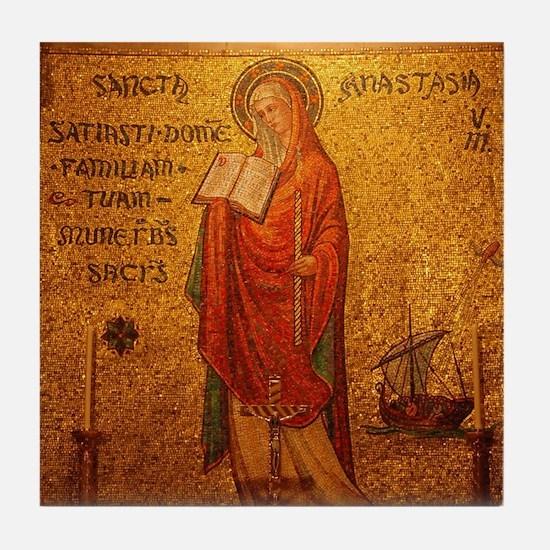 Saint Anastasia Tile Coaster
