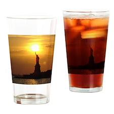 NewYork009 Drinking Glass