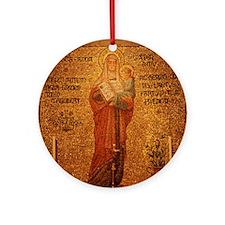 Saint Anne Round Ornament