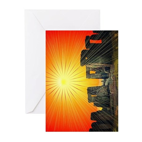 Solstice Light Greetings cards Greeting Cards