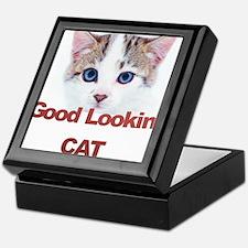 Good Lookin' Cat Keepsake Box