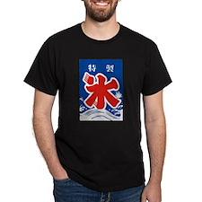 Japanese Kanji Ice - Snowcone T-Shirt