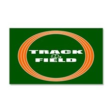 Track and Field Car Magnet 20 x 12