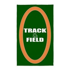 Track and Field 3'x5' Area Rug